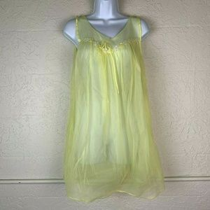 Vintage GMc Nightgown Teddy Sz M LIngerie Negligee
